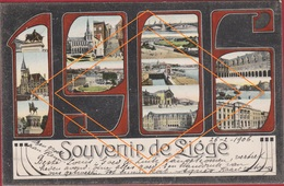 Liege Luik Souvenir De Annee Jaartal 1906 Jugendstil Art Nouveau (En Très Bon état) - Schaarbeek - Schaerbeek