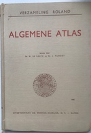 (64) Algemene Atlas - 1955 - Verzameling Roland - H35x25 - 36 Kaarten - Géographie
