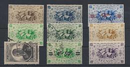 Lotto Reunion Usati (*) - Réunion (1852-1975)