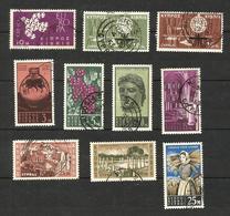 Chypre N°189, 192 à 198, 202, 210 Cote 3.25 Euros - Gebraucht