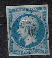 A2-N°15 Sans Défaut Signé Brun Et Bhüler Expert Allemand - 1853-1860 Napoléon III