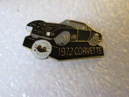 PIN'S    CORVETTE    1972 - Corvette