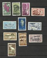 Chypre N°195 à 205 Cote 24.85 Euros - Usados
