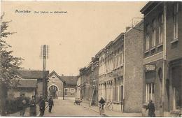 Moerbeke - Het Station En Statiestraat. - Moerbeke-Waas