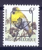 VARIA 156 * BUZIN * 829 B.P8a * Druk Verschoven Naar Boven * Postfris Xx - 1985-.. Uccelli (Buzin)