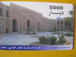 Télécarte D' Irak - Iraq
