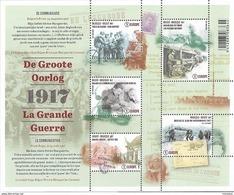 Belg. 2017 - COB N° 4722 à 4726 ** La Grande Guerre (BL256) - Unused Stamps