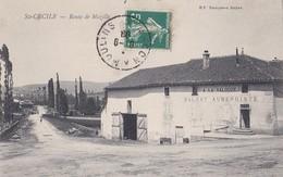 SAINTE CECILE ROUTE DE MAZILLE  A LA VALOUZE BALVAY AUBERGISTE  PRIX FIXE - France
