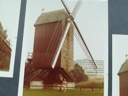 LINDEKEMALE MOULIN À EAU ROUE ACTION MOULIN À VENT WOLUWE - SAINT - LAMBERT BELGIQUE EN 1973 9 PHOTOS COULEURS RECT. BB. - Voorwerpen