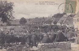 PAYRAC  LE CHAMP DE FOIRE ( VUE PEU COURANTE )  PRIX FIXE - France
