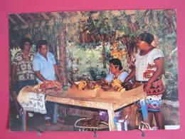 Visuel Très Peu Courant - Wallis Et Futuna - Inauguration Du Marché Couvert De Wallis - Très Bon état - Recto Verso - Wallis Et Futuna