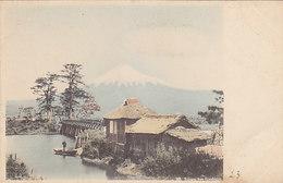 Kawalbashi - Mt. Fuji - Handcol.        (A-191-191022) - Autres