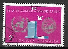 ROUMANIE    -   1985.    Y&T N° 3626 Oblitéré.   ONU  /  Colombe - 1948-.... Republics