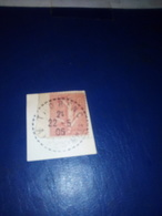 Cachet Pointillé THORENC (06) Sur Fragment 1906 N°129 - 1921-1960: Moderne