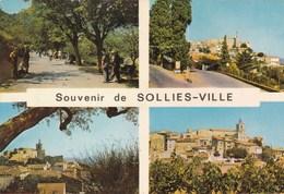 SOLLIES - VILLE - VAR  - (83) - CPSM MULTIVUES DE 1969. - Sollies Pont