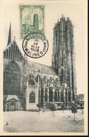 BELGIUM  1928 ISSUE MECHELEN COB 269  MC - Maximum Cards