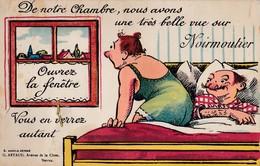 NOIRMOUTIER  CARTE A SYSTÈME DÉPLIANT DE 10 VUES COMPLET G. ARTAUD  PRIX FIXE - Ile De Noirmoutier