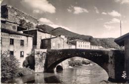 CPSM - QUILLAN - LE PONT VIEUX (1954) - France