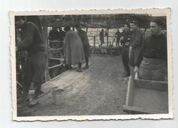 Photographie Chasseurs Alpins Et Travaux Chantier Photo 6x8,5 Cm - War, Military