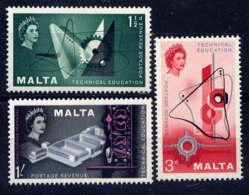 MALTE - 259/261** - ENSEIGNEMENT TECHNIQUE - Malta (...-1964)