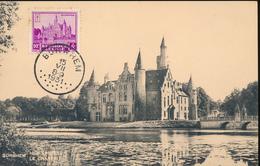 BELGIUM  1930 ISSUE BORHEIM BORNEM FAULT RUST ON THE PERFORATIONS MC - Maximum Cards