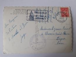 6ème Régiment D'Infanterie - 1er Bataillon - Cachet Vaguemestre - 1956 - Franchise Militaire (timbres)