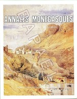 Annales Monegasques - Publication Des Archives Du Palais Princier - Documents Historiques