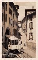 Lugano Funicolare Della Stazione E Via Cattedrale - Funiculaire - TI Tessin