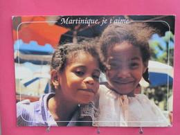 Martinique - Fort De France - Bonjour - Petites Filles Martiniquaises - Recto Verso - Fort De France