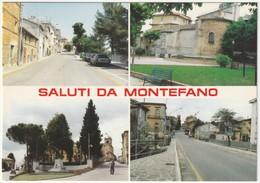 MONTEFANO - MACERATA - SALUTI DA... - VEDUTINE -45808- - Altre Città