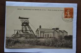 MONTCEAU-les-MINES-puits Du Bois Du Verne - Montceau Les Mines