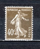 FRANCE  N° 193  NEUF SANS CHARNIERE  COTE  3.70€    TYPE SEMEUSE CAMEE - 1906-38 Sower - Cameo