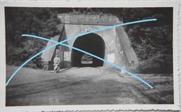Photo LINKEBEEK Tunnel Ferroviaire Publicité Au Moulin Rose 1933 - Lieux