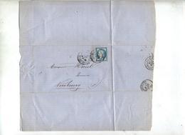 Lettre Cachet ? Sur Ceres - Postmark Collection (Covers)