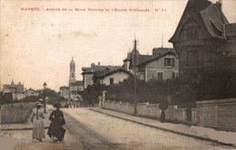 13006       BIARRITZ     AVENUE DE LA REINE VICTORIA ET EGLISE ST CHARLES - Biarritz