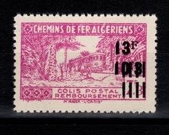 Algerie - Variete Colis Postaux N** Luxe YV 197 Sans Surcharge Contrôle - Paketmarken