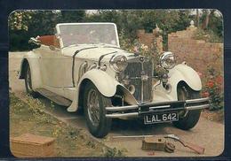 1989 Pocket Poche Calendar Calandrier Calendario Portugal Classic Cars Clássicos - Calendars