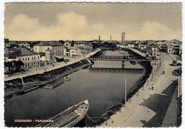 CODIGORO - PANORAMA - FERRARA - 1954 - Ferrara
