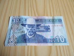 Namibie - Billet 10 Dollars. - Namibia