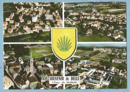 F0503  CP   DELLE  (Territoire De Belfort)  4 Vues   ++++++ - Delle