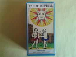 TAROT D'EPINAL. Cartomancie. Avec Livret Explicatif. Neuf. Boite Carton - Tarots