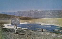 Bad Water Point , Death Valley CA 1954 - Death Valley