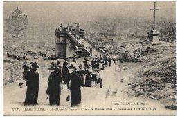 L130A_ 72 - Marseille - XLV N.-D. De La Garde - Croix De Mission 1820 - Avenue Des Ascenseurs, 1892 - Notre-Dame De La Garde, Ascenseur