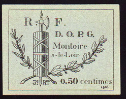 PRISONNIERS DE GUERRE  (Guerre 1914/18) RARE Billet Illustré à 0,50 F En 1918 à.............. - Bons & Nécessité