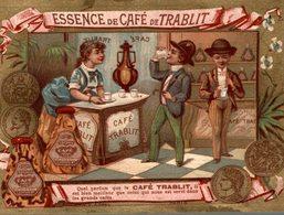 CHROMO ESSENCE DE CAFE DE TRABLIT - Thé & Café