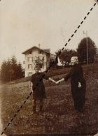 Photo Famille Curie à Arveyes Suisse - Luoghi