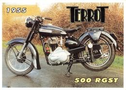 Moto Terrot 500 RGST 1955 CPM - Motorfietsen