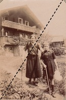 Photo Famille Curie à Arveyes Suisse - Lieux