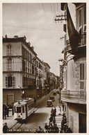SAN REMO - N° 38 - VIA VITTORIO EMANUELE (TRAMWAY PLAN MOYEN) - San Remo