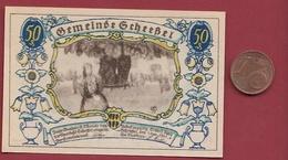 Allemagne 1 Notgeld 50 Pfenning Stadt Scheessel Dans L 'état Lot N °5833 - [ 3] 1918-1933 : République De Weimar